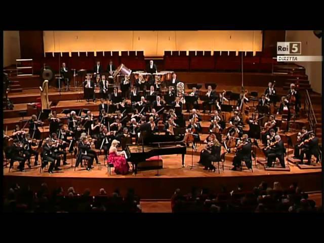 Valentina Lisitsa - John Axelrod - Liszt Totentanz for Piano Orchestra
