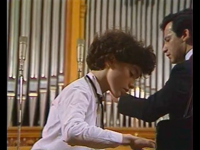Evgeny Kissin plays Shostakovich Piano Concerto no. 1, op. 35 - video 1986