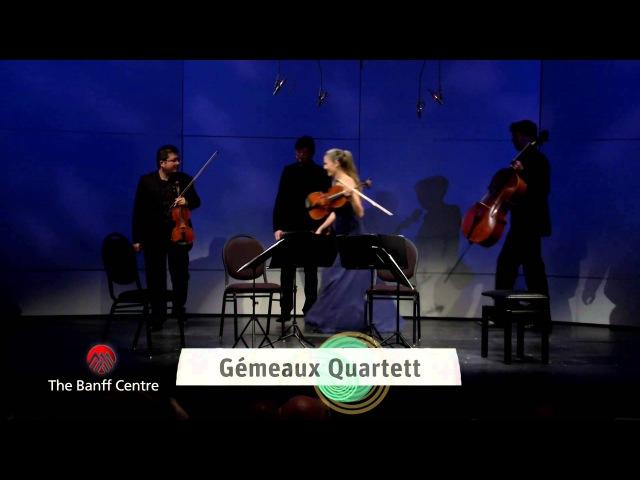 BISQC 2013 - Gemeaux Quartet - Franz Schubert Quartet No. 11 in E Major
