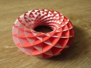 Sliceform papercraft torus tutorial dutchpapergirl