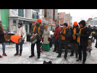 Харинама-санкиртана 28.11.2015, Екатеринбург (полная)/Harinam sankirtan Russia
