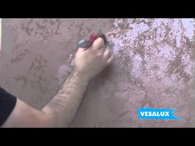 VESALUX Copper Rust Effect | Faux Finishing Technique
