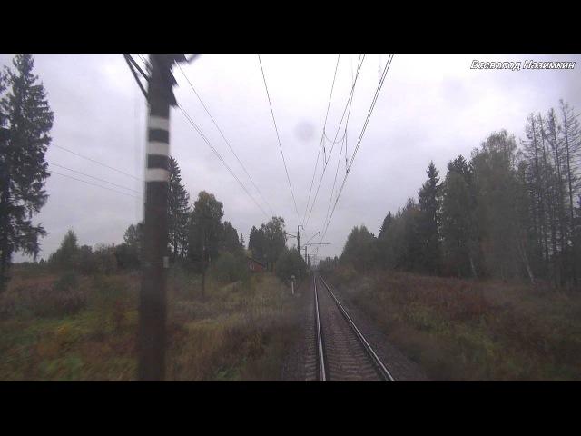 От Савелово до Москвы-Бутырской на ЭР2Т (09.2013)