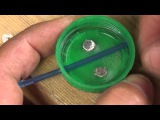 Making a Milk Bottle Top Feeder for summer bait fishing