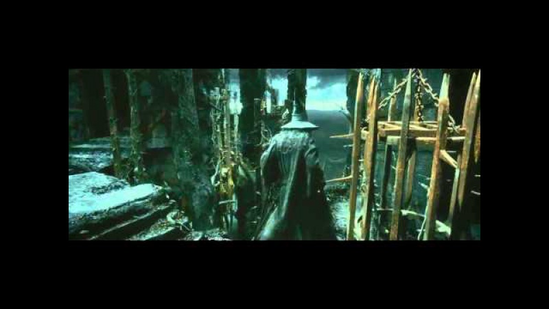 The Hobbit 2- Gandalf vs Azog Sauron in Dol Guldur Desolation of Smaug 1080p HD