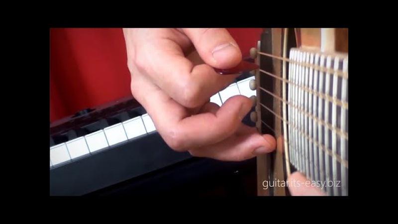 Обучение игре на гитаре. Урок 3 - Постановка правой руки