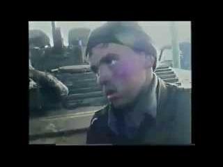 Покажите это Путину. Пленный русский солдат в Чечне .