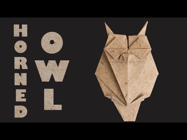 Paper Owl tutorial. DIY paper Owl. Easy origami
