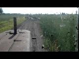 ДТ 75 на колесах транспортировка сена !