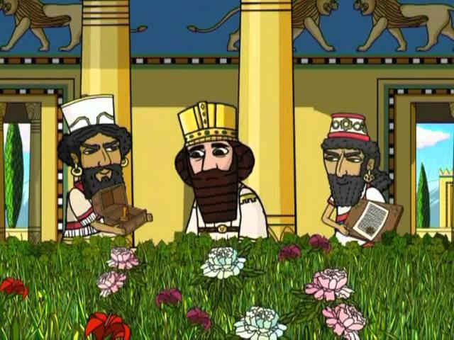 Истории Ветхого Завета_36 из 37_Пророк Даниил.
