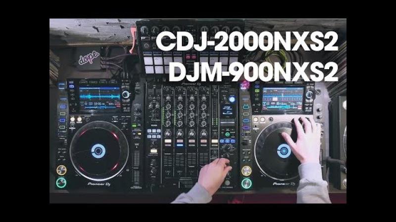 Alex Moreno testing the Pioneer CDJ-2000NXS2 & DJM-900NXS2