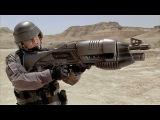 ТОП 10 Смертоносное Оружие Будущего Стрелы Бога, Рельсотрон, экзоскелеты, лазеры...