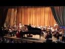 Пианистка Валентина Лисица. город Торез. Музыкальная школа.25.06.2015 год.
