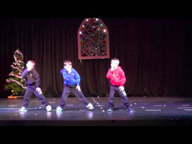 Christmas Clap Hip Hop dance (B Shoc)