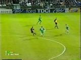 ЛЧ 2001-02. 1-4 финала. Первый матч. Панатинаикос - Барселона 3часть