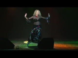 Simona Guzman belly dance - Turkish Song of Zeki Müren