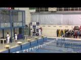 награждение 200м комплексное плавание девочки 2005г.р.