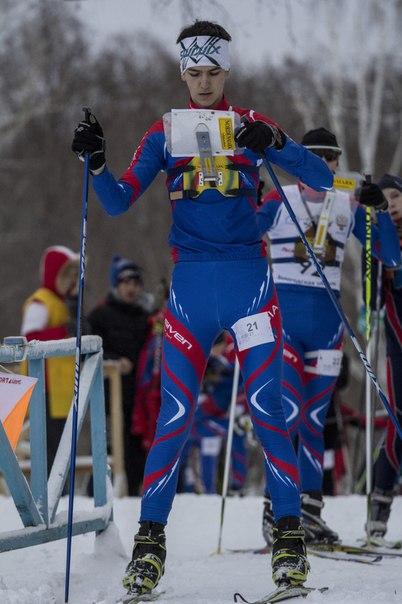 Завершились соревнования по лыжным гонкам