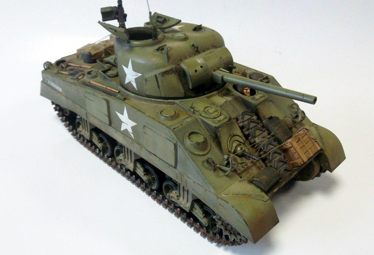 M4 Sherman (Tamiya 35190 1/35) GdaBPQiaHNo