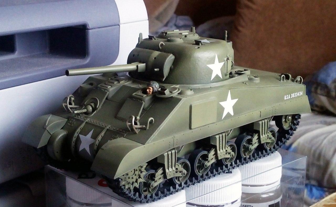 M4 Sherman (Tamiya 35190 1/35) Sh4D0gdtSxQ