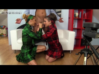 SinDrive.com - Anita Bellini  Liza - Cum Hungry Cuties Plowed In Plaid, Ready To Go Hard With Pussy And Ass_1080