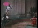Пляска на спине лошади / Gitana Leontenko riding and dancing