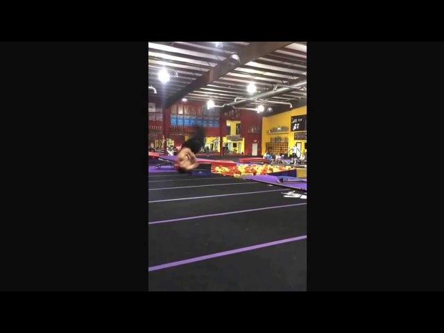 21 cork swings (new world record)