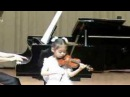 6y/o girl,Anne,Violin O.Rieding Concerto in Bm Op.35 Mov3