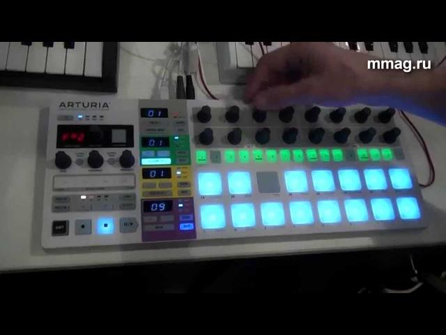Mmag.ru Musikmesse 2015 - Arturia Beatstep Pro - универсальный контроллер
