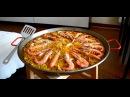 Паэлья с морепродуктами Paella de mariscos. Испанская кухня