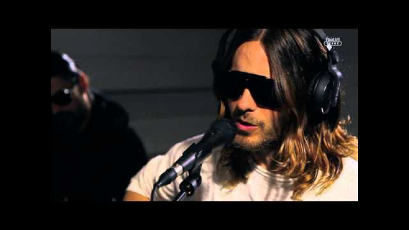 30 Seconds To Mars - Hurricane (live at Radio Nova, HD)