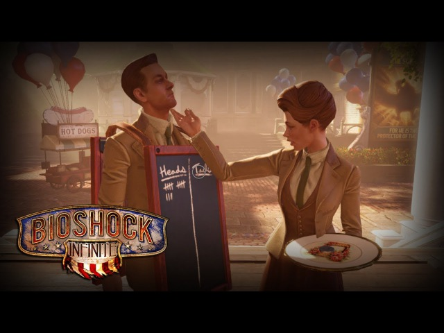 BioShock Infinite Rosalind Robert Lutece All Scenes and Dialogue Heads or Tails
