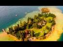 Lago di Garda - Aerial filming in Italy (Аэросъемка озера Гарда в Италии)