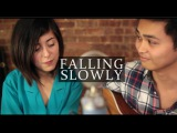 Falling Slowly - Glen Hansard and Marketa Irglova (Cover) by Daniela Andrade &amp Paulo Serapio