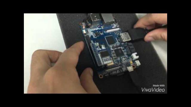Banana pi BPI-M3 BPI AD/DA extend Module test demo
