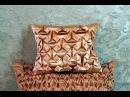 Буфы схема Оригами, декоративная подушка.