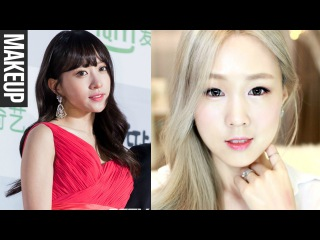 EXID HANI's Dewy Skin & Coral Makeup ♥ Korean Skincare Tips! 하니 서가대 촉촉 피부 & 코랄 화장법 [한글자막]