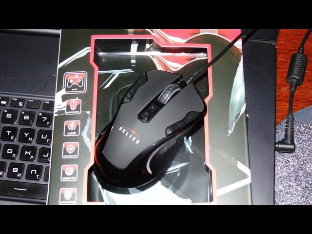 Мышь OKLICK 705G Gaming Optical Mouse Black