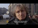 Николай Стариков на канале Aljazeera - Кто организовал майдан