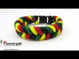 Rasta paracord bracelet