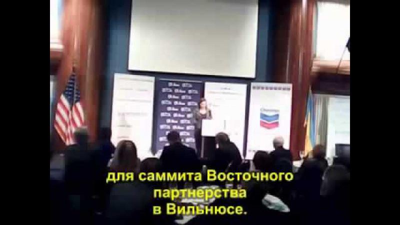 Виктория Нуланд Мы вложили 5 млрд $ в революцию на Майдане (красаффцы)