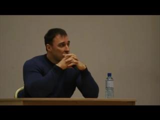 Алексей Воевода о своем дневном рационе.