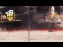 Война в Сирии  Расстрел танкиста