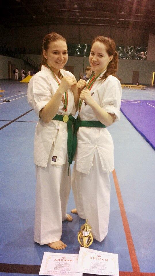 победители Чемпионата Республики Татарстан по всестилевому каратэ