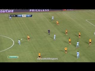 Обзор матча 'АПОЭЛ'-'Астана' (1:1)