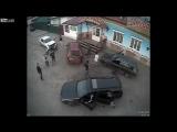 Потасовка алкоты около ресторана Украинка. Усть-Кут, Россия