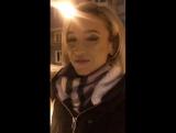 Ольга Бузова Перископ 01.02.2016 — Мы гулять! 👯👯