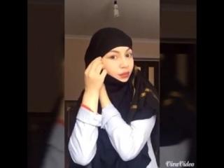 как завязать хиджаб hijab tutorial