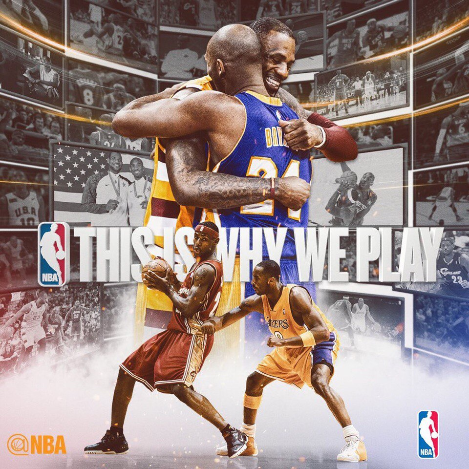 Last Game Kobe Bryant vs LeBron James