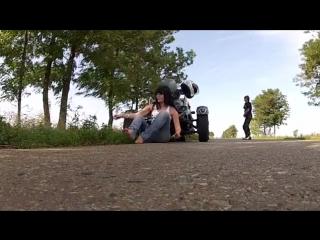 MAXIMUS Honda CBR - ацкий отжиг резины-SD